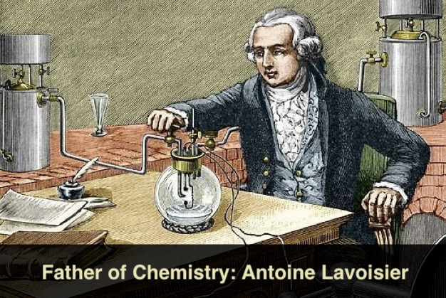 Father of chemistry Antoine-Laurent Lavoisier