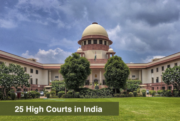 How many High Courts in India?