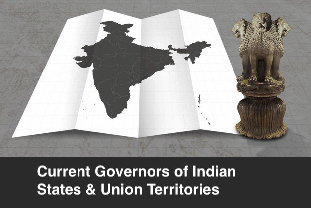 Current Governors of Indian States and UTs