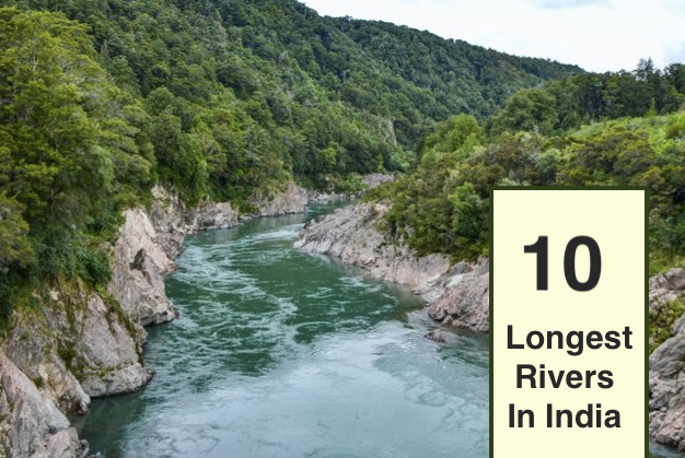 Ten Longest Rivers In India