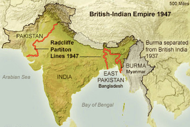 List of Important International Boundaries and Lines