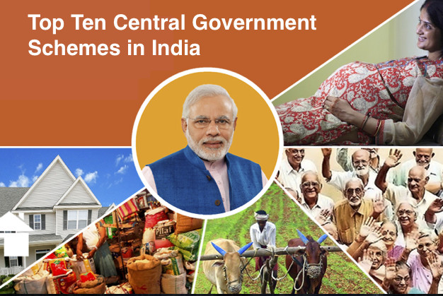 Top Ten Central Government Schemes in India