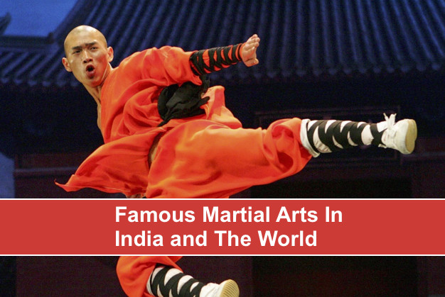 Famous Martial Arts In India and The World