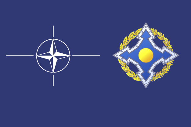 What is meant by NATO and CSTO?