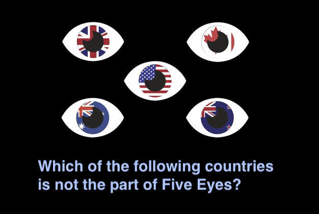Which of the following countries is not the part of Five Eyes?