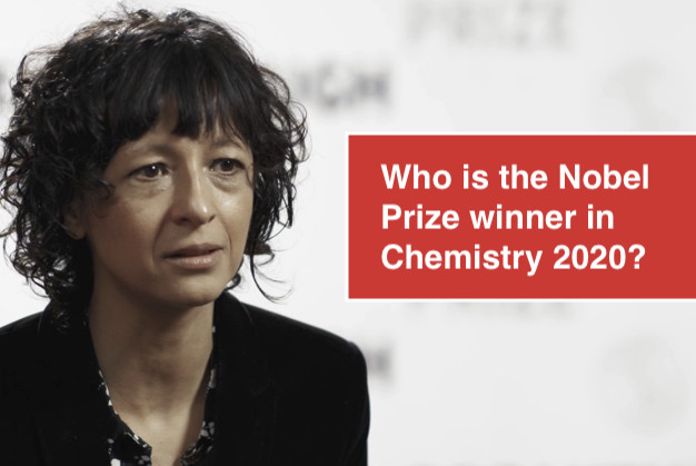 Who is the Nobel Prize winner in Chemistry 2020?