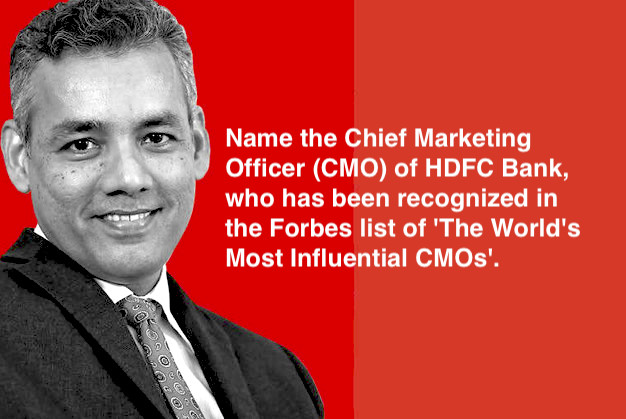 Who is the only Indian to feature in the Forbes list of 'The World's Most Influential CMOs'?