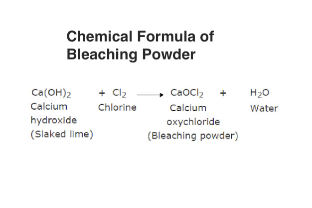 Chemical Formula of Bleaching Powder